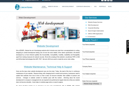Web Development Delhi NCR Infographic
