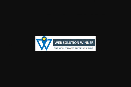 Web Solution Winner - The World's Most Successful Blog Infographic