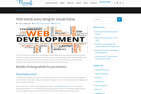 Web trends every designer should follow Infographic