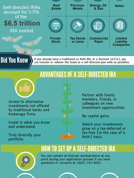 What Is A Self-Directed IRA? Infographic