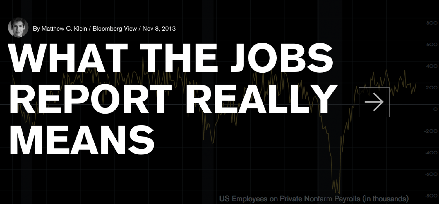 What The Jobs Report Really Means Infographic
