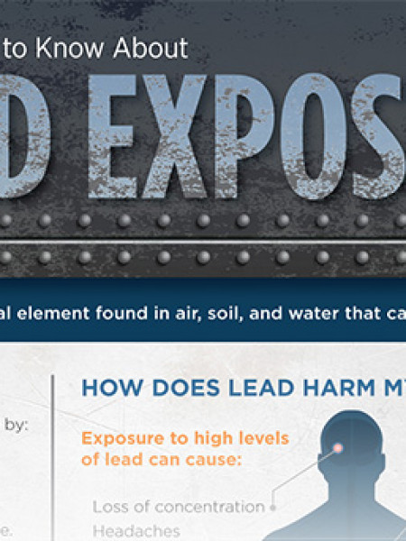 What You Need to Know About Lead Exposure Infographic