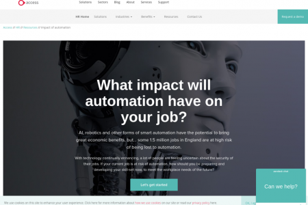 What impact will automation have on your job? Infographic