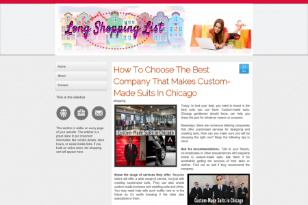 Where To Get Custom-Made Suits Infographic