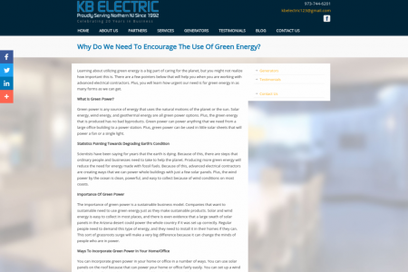 Why Do We Need To Encourage The Use Of Green Energy? Infographic