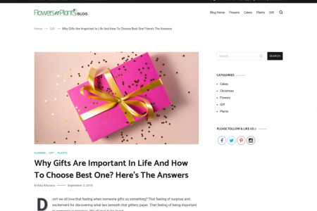 Why Gifts Are Important In Life And How To Choose Best One? Here's The Answers Infographic
