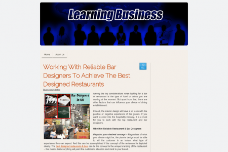 Why Hire Reliable Restaurant & Bar Designers Infographic