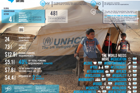 World Humanitarian Day Campaign 2013 Infographic