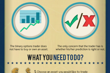 A Beginner's Guide to Binary Options Trading Infographic