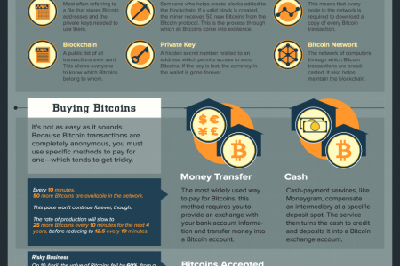 A Beginner's Guide to Bitcoins Infographic