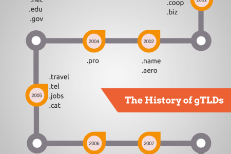 A Brief History of gTLDs As We Know It  Infographic