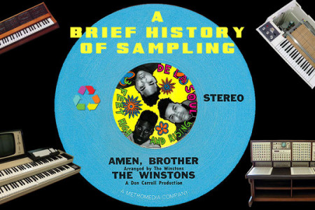 A Brief History of Sampling Infographic