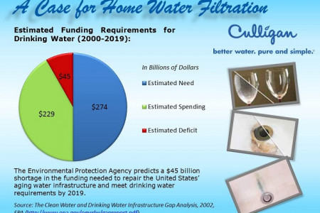 A Case for Home Water Filtration Infographic