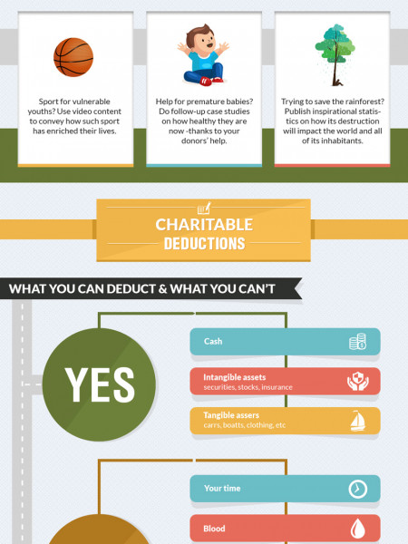A Charitable Journey Infographic
