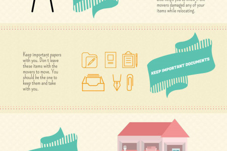A Checklist for Moving Infographic
