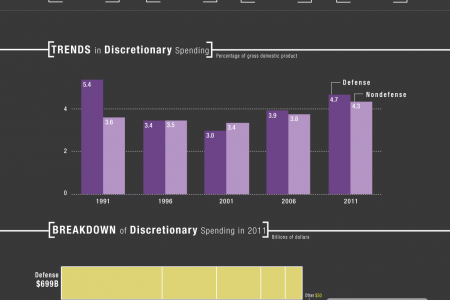 A Closer Look at Discretionary Spending Infographic