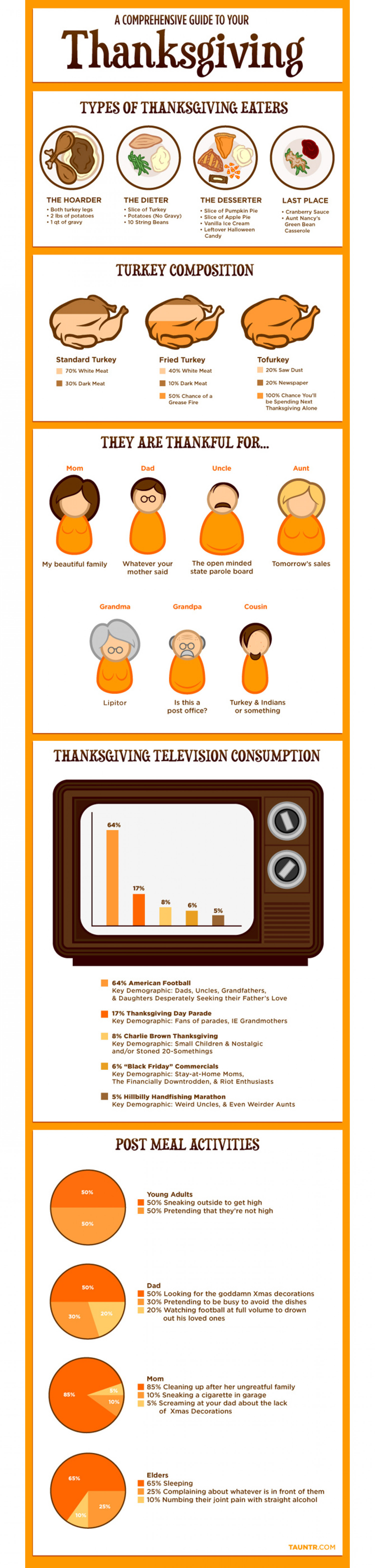 A Comprehensive Guide to Thanksgiving Infographic