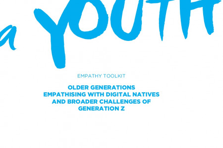 A day as a youth - empathy toolkit Infographic