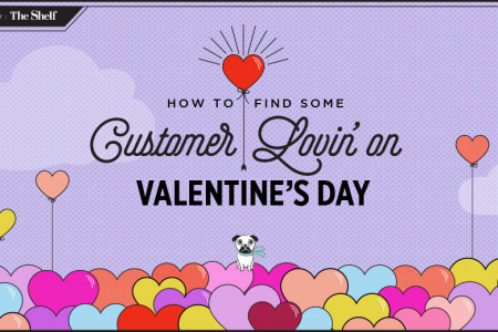 A Digital Marketing Guide to Valentine's Day  Infographic
