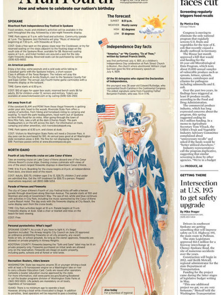 A Fun Fourth: How and When to Celebrate the Nation's Birthday  Infographic