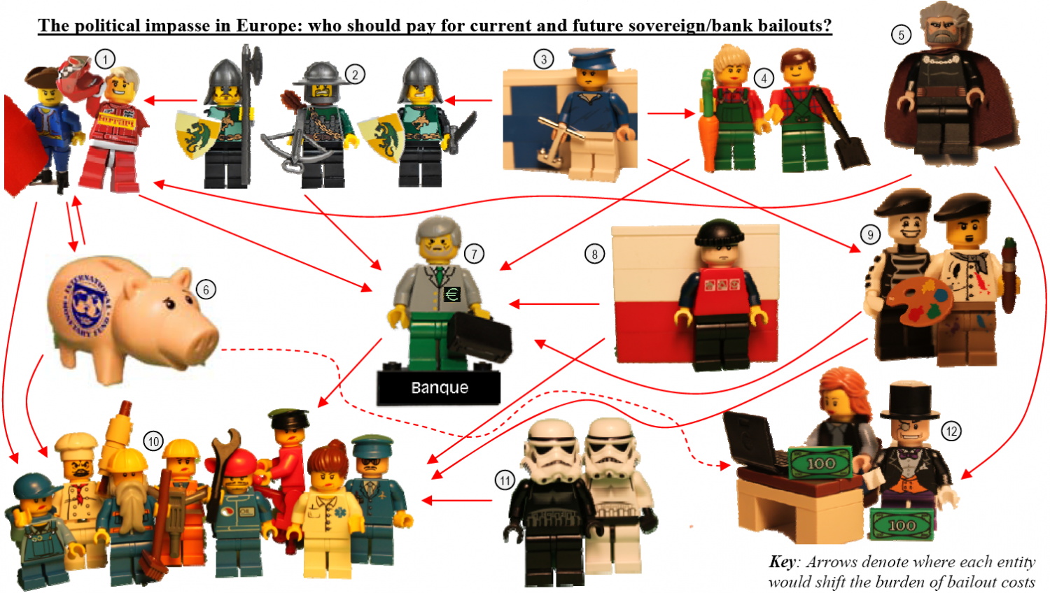 A Great European Bailout  Infographic