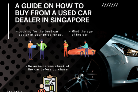 A guide on how to buy from a used car dealer in Singapore Infographic