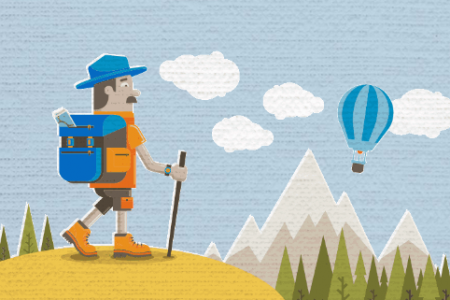 A Guide to a Cheap Camping Trip Infographic