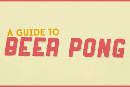 A Guide to Beer Pong Infographic