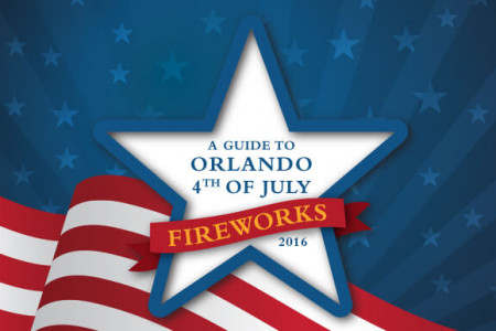 A Guide to Orlando 4th of July Fireworks 2016 Infographic