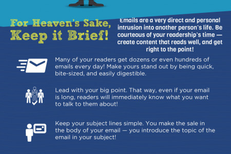 A Guide to Professional Email Marketing Etiquette Infographic