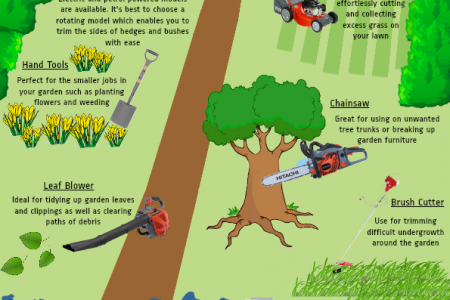 A Guide To Your Garden Infographic