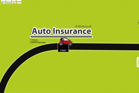 A history of Auto Insurance Infographic