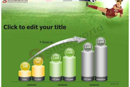A Kick In Soccer  Powerpoint Template - Slideworld Infographic