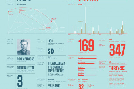 A Lifetime Infographic