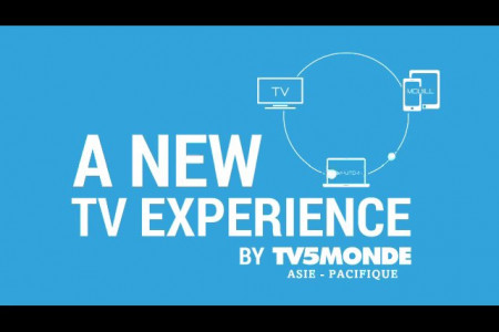 A new TV experience by TV5MONDE Infographic