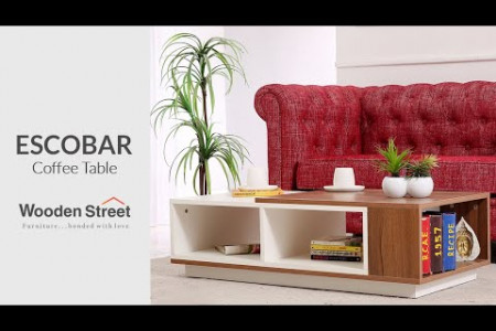 A Perfect Focal Point   Escobar Coffee Table   Wooden Street Infographic