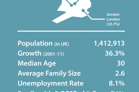 A Portrait of Modern Britain - the Indian community Infographic