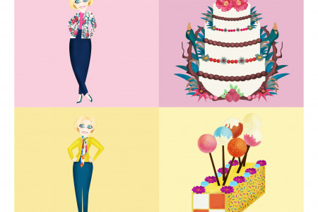 A Recipe For Style: Mary Berry's Greatest Looks as cakes! Infographic