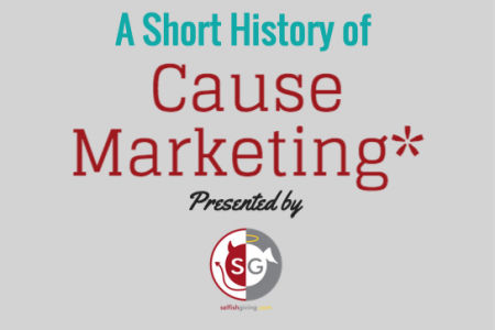 A Short History of Cause Marketing Infographic