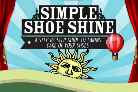 A Simple Shoe Shine Infographic
