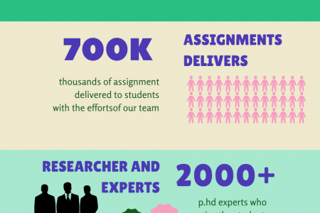 A student survey on Assignments Infographic
