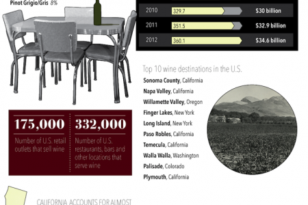A Toast To Wine Infographic