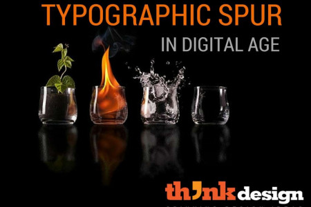A Typographic Spur In Digital Age Infographic