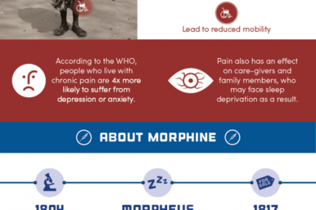 A world without morphine: The state of pain treatment around the world Infographic