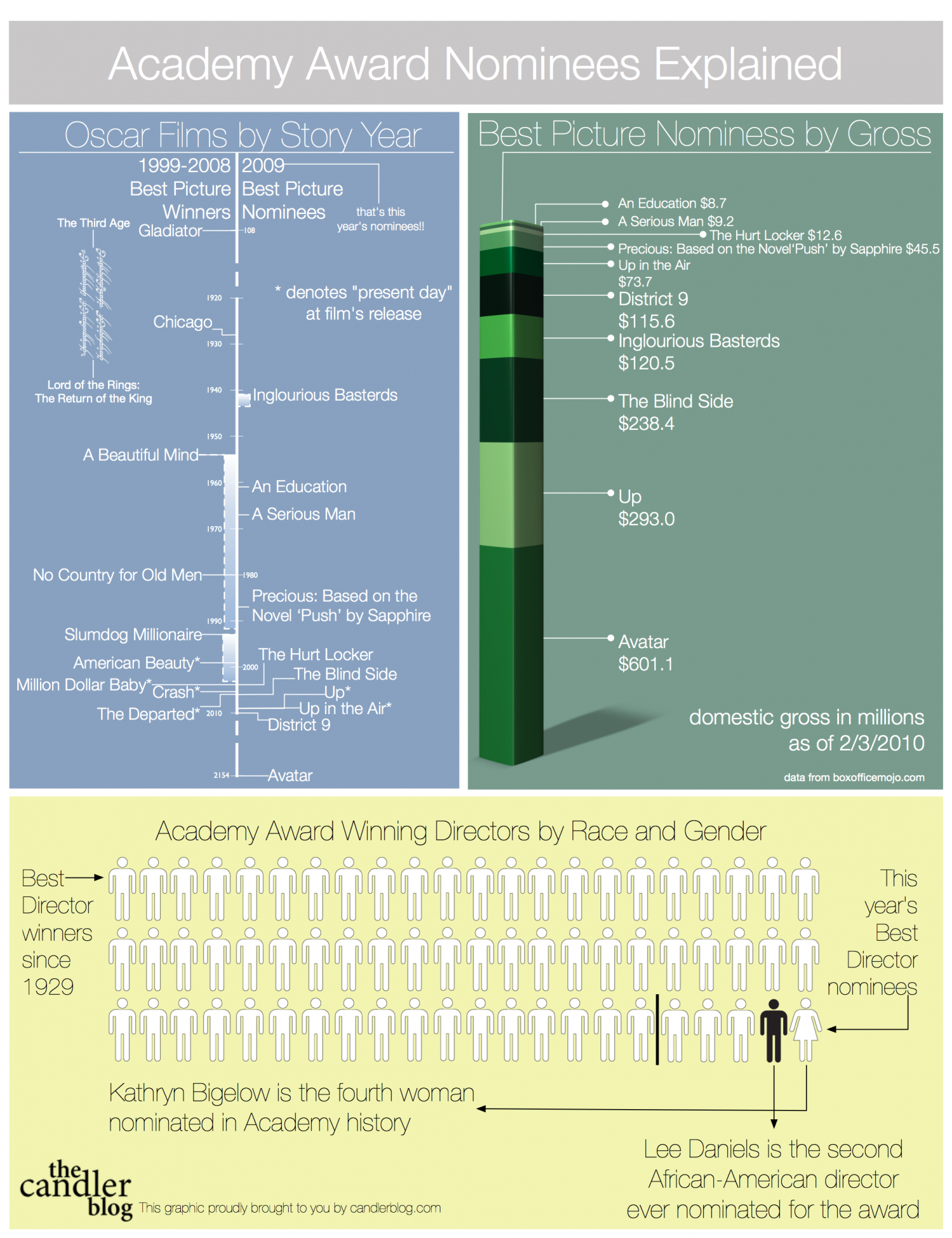 Academy Award Nominees Explained  Infographic
