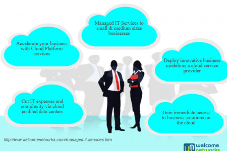Access to Business Solutions on the Cloud Infographic