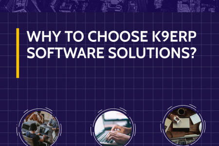 Accounting ERP Software by K9ERP Infographic