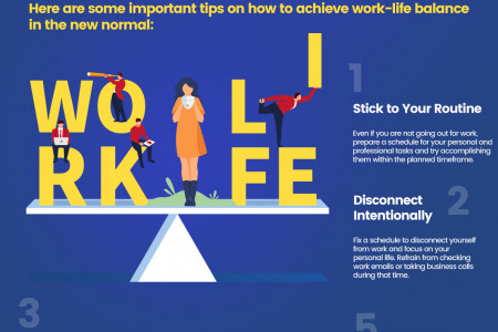 Achieving Work-Life Balance in the New Normal Infographic