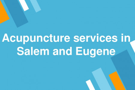 Acupuncture services in Salem and Eugene Infographic