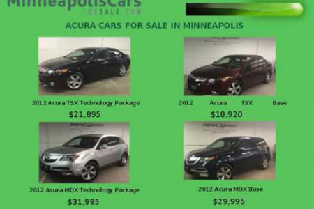 Acura TSX Technology Package Minneapolis Infographic